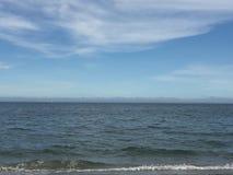 Παραλία ξύλων καρυδιάς σε Milford, Κοννέκτικατ Στοκ εικόνα με δικαίωμα ελεύθερης χρήσης