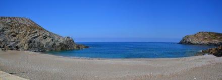 Παραλία πανόραμα-Argentiera, Σαρδηνία, Ιταλία Στοκ εικόνες με δικαίωμα ελεύθερης χρήσης