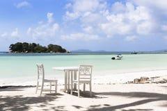 Παραλία παραδείσου, νησί Praslin, Σεϋχέλλες Στοκ φωτογραφίες με δικαίωμα ελεύθερης χρήσης