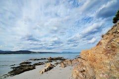 Παραλία παραδείσου Στοκ Εικόνα
