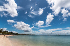 Παραλία παραδείσου Pemba, βόρεια Μοζαμβίκη Στοκ Εικόνα