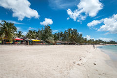 Παραλία παραδείσου Pemba, βόρεια Μοζαμβίκη στοκ εικόνες