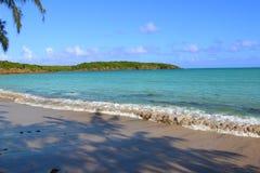 Παραλία Πουέρτο Ρίκο επτά θαλασσών Στοκ εικόνα με δικαίωμα ελεύθερης χρήσης