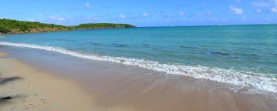 Παραλία Πουέρτο Ρίκο επτά θαλασσών Στοκ Εικόνες