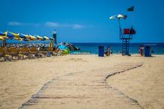 παραλία Πουέρτο Ρίκο Στοκ Εικόνα