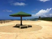 Παραλία Πουέρτο Ρίκο Isabela Στοκ εικόνα με δικαίωμα ελεύθερης χρήσης