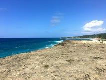 Παραλία Πουέρτο Ρίκο Isabela Στοκ φωτογραφία με δικαίωμα ελεύθερης χρήσης