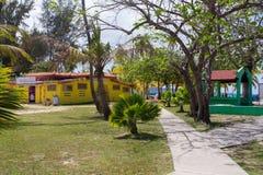 Παραλία Πουέρτο Ρίκο Luquillo Στοκ φωτογραφία με δικαίωμα ελεύθερης χρήσης