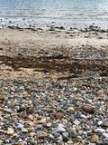 παραλία που λιθοστρώνετ& Στοκ Εικόνα