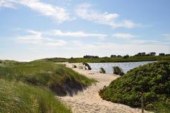 παραλία που σύρει Στοκ εικόνες με δικαίωμα ελεύθερης χρήσης