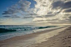 Παραλία Πράσινου Ακρωτηρίου Στοκ Εικόνες