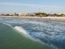 Παραλία πρωινού Στοκ εικόνες με δικαίωμα ελεύθερης χρήσης