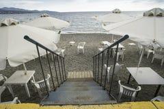 παραλία ράβδων Στοκ φωτογραφία με δικαίωμα ελεύθερης χρήσης