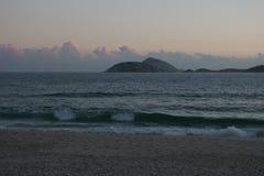 Παραλία Ρίο Ipanema Στοκ φωτογραφίες με δικαίωμα ελεύθερης χρήσης