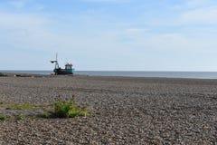 Παραλία Σάφολκ Aldeburgh Στοκ φωτογραφία με δικαίωμα ελεύθερης χρήσης