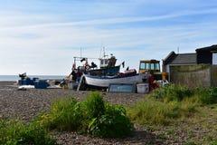 Παραλία Σάφολκ Aldeburgh Στοκ εικόνα με δικαίωμα ελεύθερης χρήσης