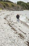Παραλία σε μακρινό Arnside, Cumbria Στοκ εικόνα με δικαίωμα ελεύθερης χρήσης