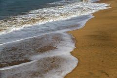 Παραλία σε Anjuna, Goa, Ινδία Στοκ Φωτογραφίες
