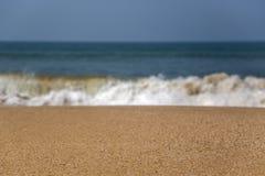 Παραλία σε Anjuna, Goa, Ινδία Στοκ φωτογραφίες με δικαίωμα ελεύθερης χρήσης