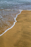 Παραλία σε Anjuna, Goa, Ινδία Στοκ εικόνες με δικαίωμα ελεύθερης χρήσης
