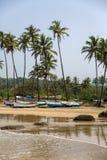 Παραλία σε Anjuna, Goa Στοκ Εικόνα