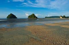 Παραλία σε Aonang, Krabi, Ταϊλάνδη Στοκ Εικόνες