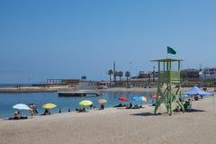 Παραλία σε Arica Στοκ εικόνα με δικαίωμα ελεύθερης χρήσης