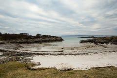 Παραλία σε Arisaig Στοκ Φωτογραφία