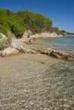 Παραλία σε Conca Verde, Σαρδηνία Στοκ Εικόνες