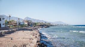 Παραλία σε Dahab, Αίγυπτος Στοκ φωτογραφίες με δικαίωμα ελεύθερης χρήσης