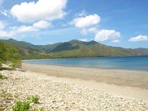 Παραλία σε Guanacaste Κόστα Ρίκα, άγριες περιοχές ζωής Στοκ Εικόνες