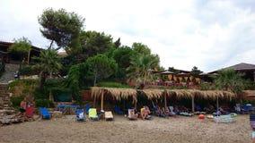 Παραλία σε Laganas Στοκ εικόνα με δικαίωμα ελεύθερης χρήσης