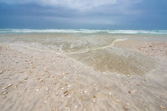 Παραλία σε Slalah, Ομάν Στοκ Εικόνες