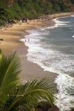 Παραλία σε Varkala στο κράτος του Κεράλα, Ινδία Στοκ φωτογραφία με δικαίωμα ελεύθερης χρήσης