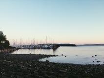 παραλία Σιάτλ Στοκ φωτογραφία με δικαίωμα ελεύθερης χρήσης