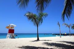 Παραλία σπηλιών γιατρού, κόλπος Montego, Τζαμάικα Στοκ Φωτογραφίες