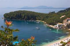 Παραλία στην Ελλάδα Στοκ φωτογραφίες με δικαίωμα ελεύθερης χρήσης