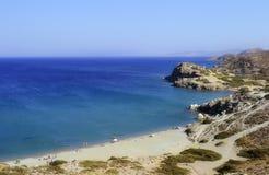 Παραλία στην Κρήτη, Ελλάδα Στοκ φωτογραφίες με δικαίωμα ελεύθερης χρήσης