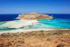 Παραλία στην Κρήτη Στοκ Φωτογραφίες