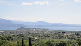 Παραλία στη λίμνη Garda Ιταλία φιλμ μικρού μήκους