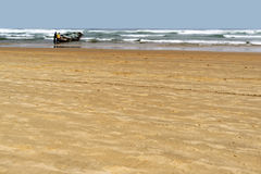 Παραλία στη Μαυριτανία Στοκ φωτογραφίες με δικαίωμα ελεύθερης χρήσης