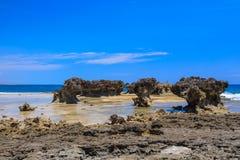 Παραλία στη Μαδαγασκάρη, Antsiranana, Diego Suarez Στοκ Εικόνα
