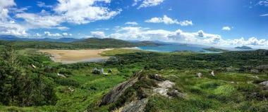 Παραλία στο δαχτυλίδι της ιρλανδικής αγελάδας Ιρλανδία Στοκ Φωτογραφία