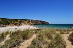 Παραλία στο Αλγκάρβε, Πορτογαλία Στοκ φωτογραφία με δικαίωμα ελεύθερης χρήσης