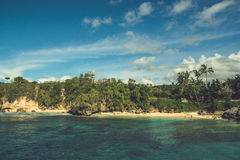 Παραλία στο Μπαλί, Ινδονησία Στοκ εικόνες με δικαίωμα ελεύθερης χρήσης