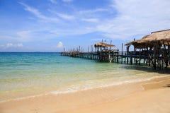 Παραλία στο νησί Ταϊλάνδη Samet Στοκ Φωτογραφία