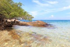 Παραλία στο νησί Ταϊλάνδη Samet Στοκ εικόνα με δικαίωμα ελεύθερης χρήσης
