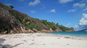 Παραλία στο νησί Curieuse Στοκ Φωτογραφία