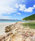 Παραλία στο Χονγκ Κονγκ στοκ εικόνα με δικαίωμα ελεύθερης χρήσης