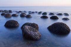Παραλία σφαιρών μπόουλινγκ Στοκ Φωτογραφίες